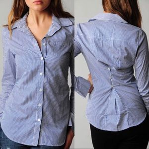 Elizabeth And James Pinstriped Schoolboy Shirt